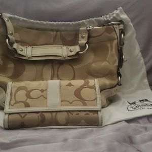 COACH Purse and Wallet w/ bag.
